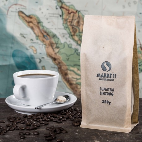 Indonesien Sumatra Lintong - Kaffee Shop Markt 11