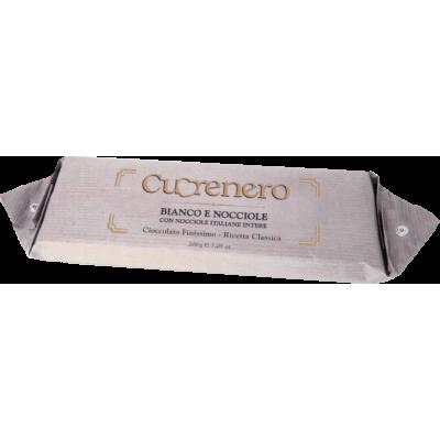 Cuorenero Schokolade Bianco e Nocciole 200G