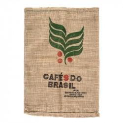 Kaffeesack aus Jute - Brasil Santos