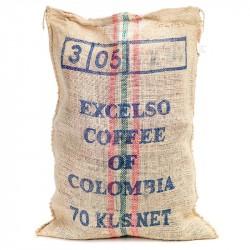 Kaffeesack aus Jute - Kolumbia Excelso