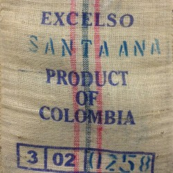 Kaffeesack aus Jute - Columbia Excelso
