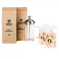 Geschenkbox French Press + Kaffee