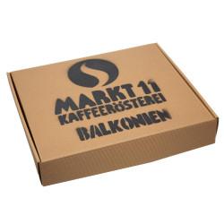 Geschenkbox Balkonien - Kaffee Shop Markt 11 - außen