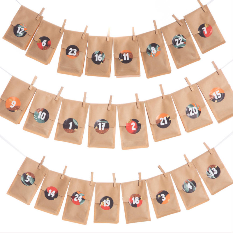 Kaffee-Adventskalender | Päckchen aufgehängt| Markt 11 Kaffeerösterei