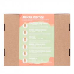 Geschenkbox Kaffee Afrika Ansicht hinten